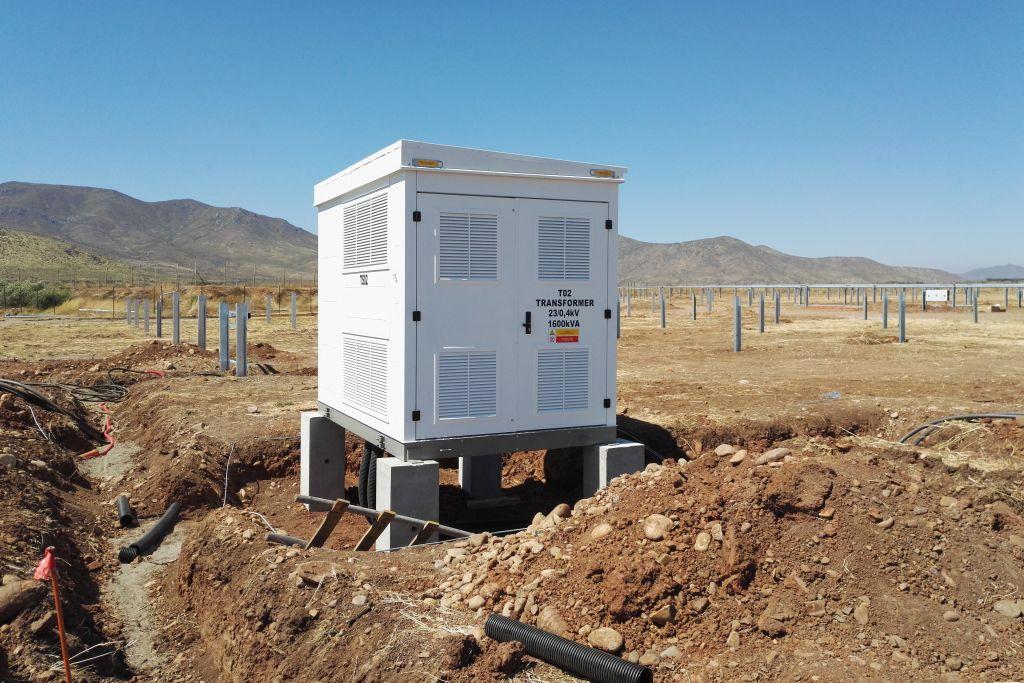 Fotovoltaická elektrárna, Chile
